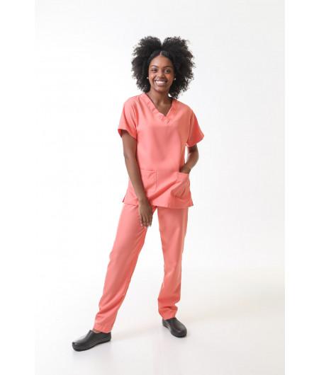 Scrub Pijama Cirúrgico CORAL Feminino