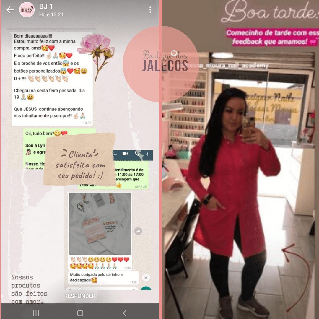 Depoimento das Clientes - Boutique dos Jalecos - 6